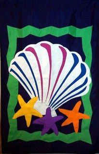 Islander Flags, Shell & Seastars
