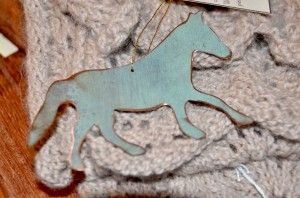 Whalehead, Copper Horse Ornament Keepsake