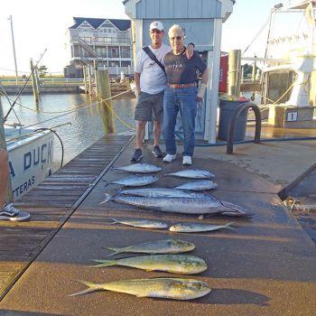 Tuna Duck Sportfishing, Tuna, Dolphin, Wahoo