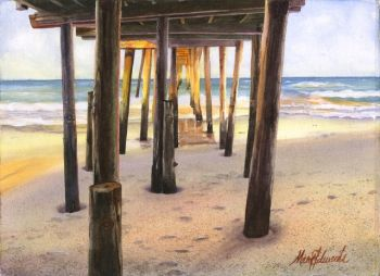 Dare County Arts Council, People, Pets & Places You Love Exhibit- Watercolors by Mary Edwards