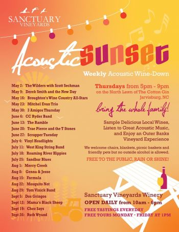 Cotton Gin, Acoustic Sunset Concert Series