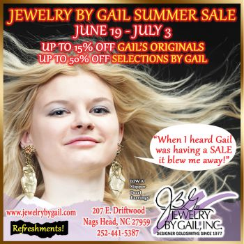 Jewelry By Gail, Summer Sale Kick Off
