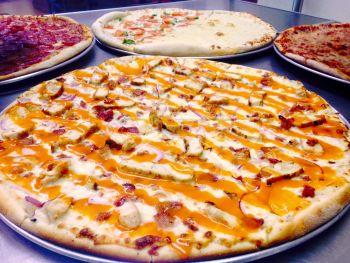 Giant Slice Pizza, Buffalo Chicken