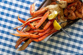 Dirty Dick's Crab House, The Trinity Platter (For Two)