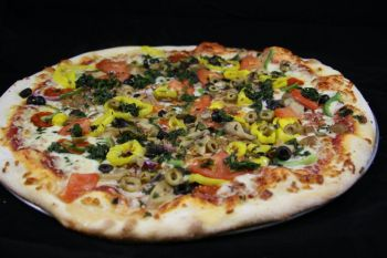 Giant Slice Pizza, Veggie