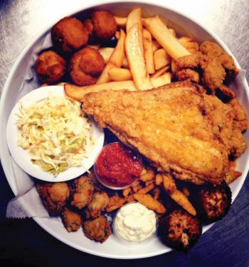 Jimmy's Seafood Buffet, Fried Seafood Platters