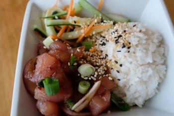 Woo Casa Kitchen, Tuna Poke
