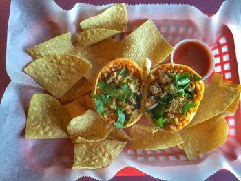 Viva Mexican Grille, Chille Verde Burrito