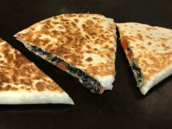 Viva Mexican Grille, Black Bean Quesadilla