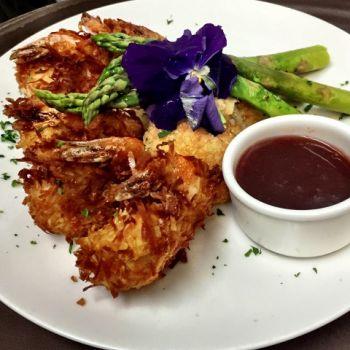 Argyle's Restaurant, Jumbo Tempura Coconut Shrimp