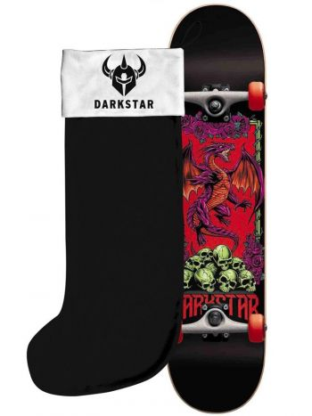 """Outer Banks Boarding Company, Darkstar Levitate Youth Mini Complete 7.0"""" with stocking"""