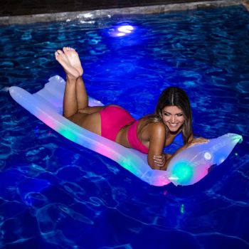 Kitty Hawk Kites, Pool Candy LED Illuminated Pillow Raft