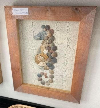 Absolutely Outer Banks, Outer Banks-Inspired Shell Art
