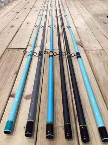 Oceans East Bait & Tackle Nags Head, Custom CTS Surf Rods
