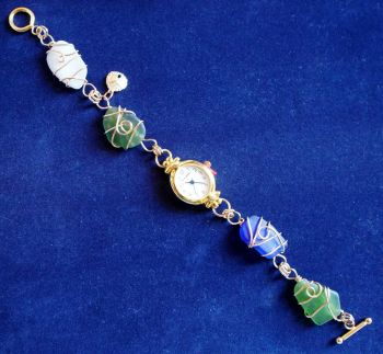 The Island Shop Boutique, Outer Banks Sea Glass Watch
