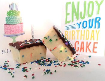 Scotch Bonnet Fudge & Gifts, World-Famous Fudge: Birthday Cake