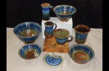 Village Craftsmen, Blanket Creek Pottery Pieces