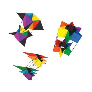 Kitty Hawk Kites, Box Kite 3-Pack Bundle