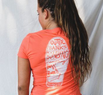 Outer Banks Boarding Company, OBBC Women's Decker T-Shirt
