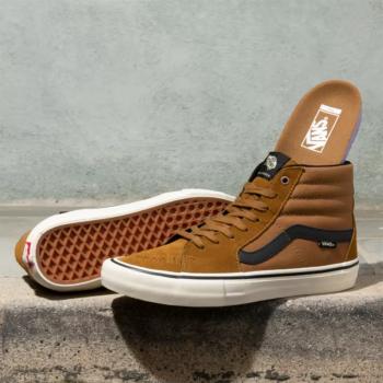 Outer Banks Boarding Company, Vans Sk8-Hi Pro Shoe Bronze/Antique