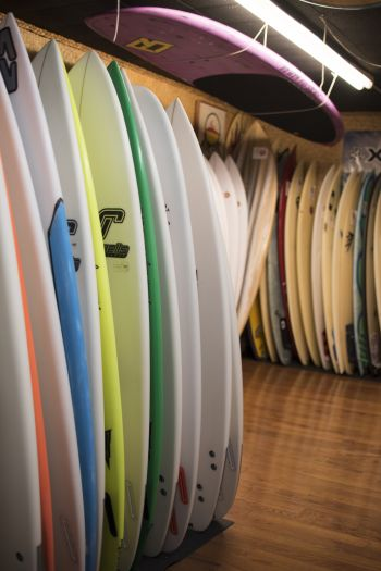 Secret Spot Surf Shop, Surfboards