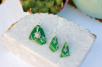 The Island Shop Boutique, Local Sea Glass Jewelry