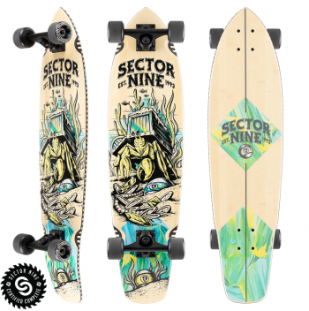 Outer Banks Boarding Company, Sector 9 Fortune Ft. Point Complete Skateboard
