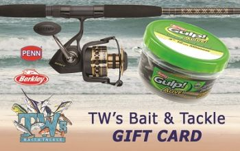 TW's Bait & Tackle, Gift Card