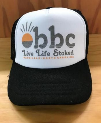 Outer Banks Boarding Company, OBBC Grom Live Life Stoked Trucker