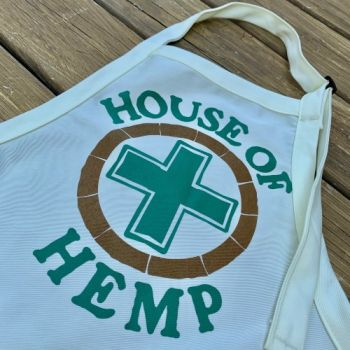 House of Hemp OBX, Logo Apron