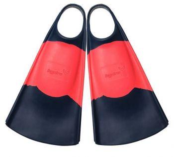 Outer Banks Boarding Company, Hydro O.G. Bodyboarding Fins Navy/Coral