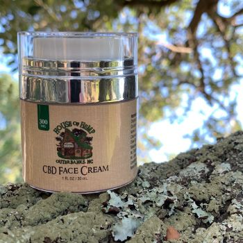 House of Hemp OBX, CBD Face Cream