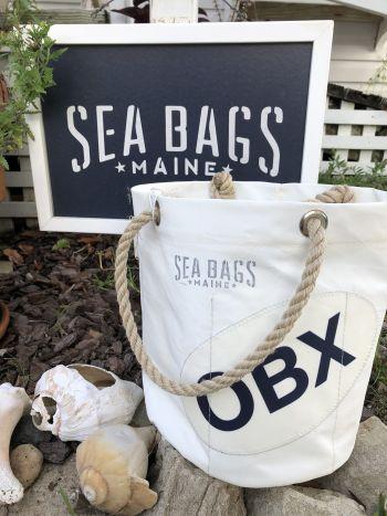 Buxton Village Books, Custom Sea Bag: The Beverage Bucket