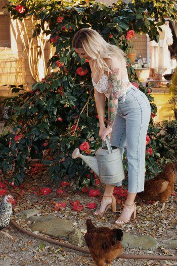 Foxy Flamingo Boutique, Ditsy Daisy Bodysuit