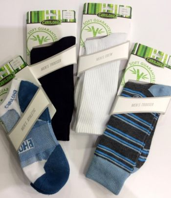 Cariloha Bamboo Outer Banks, Men's Socks
