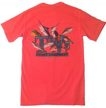 TW's Bait & Tackle, TW's Multifish T-Shirt