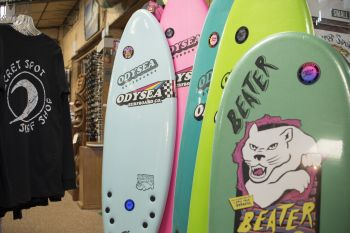 Secret Spot Surf Shop, Beater Board
