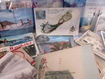 Nora's Wish, Vintage Postcards