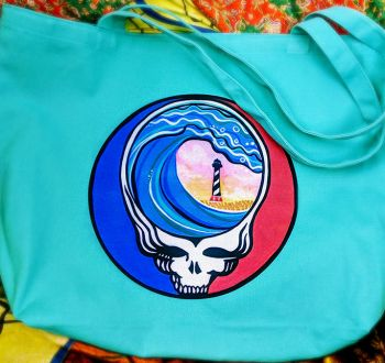 "Muse Originals, ""Steal Your Paradise"" OBX Deadhead Tote"
