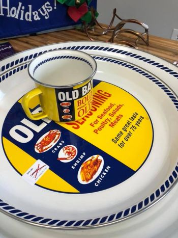 Islander Flags, Licensed Old Bay Enamelware