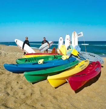 Ocean Atlantic Rentals, Kayaks for Ocean & Sound