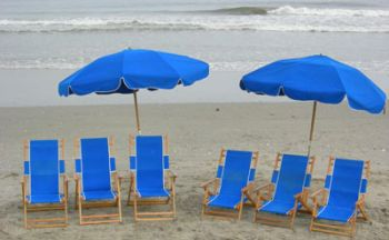 Ocean Atlantic Rentals, Beach Umbrella Service