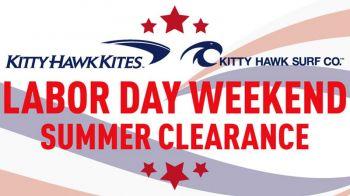 Kitty Hawk Surf Co., Labor Day Clearance Sale