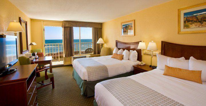 Oceanfront Room At Ramada Plaza Nags Head Beach Hotel