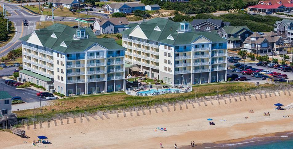 Elegant Aerial View Of Hilton Garden Inn Outer Banks/Kitty Hawk Amazing Design
