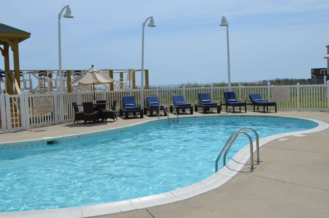 Outdoor Pool At Hilton Garden Inn Outer Banks/Kitty Hawk