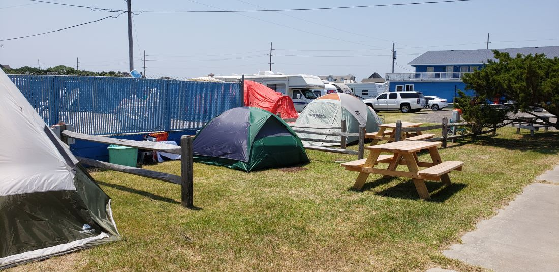 beach campground outer banks