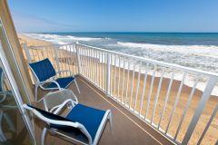 Oceanfront Guest Room Balcony View