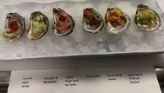 Chef's Oyster Tasting