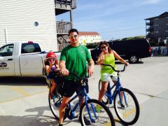 Bikes for rent at Just For the Beach Rentals